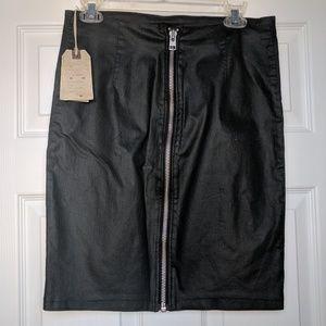 NWT All Saints denim pencil skirt